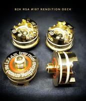 """BB Vapes Brvnd - """"B2K #187 Rendition Gold Deck v2"""""""