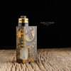 "Proteus Progeks - ""SQNK Final Breed"" Limited Edition Ultem Mechanical Bottom Feed Squonk Mod shown with SQUI 24K LE RDA attached for demonstration purposes only. Atomizer is NOT included in sale. This sale  is for the mod only."
