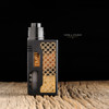 """Infinity Mods x SunBox - """"Daytona Black Edition"""" RDA shown attached to I'M 911 Enushi Edition mod for demonstration purposes only. This mod is NOT included in this sale. This sale is only for the rebuildable dripping atomizer package."""