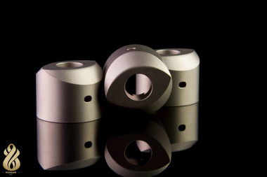 "Hussar Vapes - ""Satin Silver Eye Cap for Hussar RDA v1.0"""