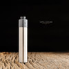"""Ohman Bmods - """"DripStick Reborn 510 Shorty Cap, Black Ultem"""" shown attached to DripStick Reborn along with a drip tip for demonstration purposes only. This sale is ONLY for the 510 Shorty Cap, and does NOT include the mod, deck, nor drip tip."""