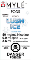 "MYLE - ""Lush Ice Pod"" (4 Pack)"