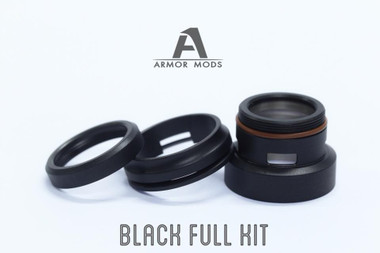 "Armor Mods - ""Full Cap Kit for Armor 2.0, Black"""
