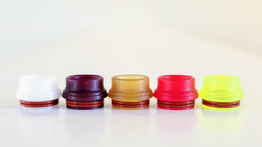 Miro Momo Candy - Drip Tip Style 1 for Armor RDA: White, Maroon, Ultem, Fluorescent Red, Acid Green
