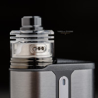 "Bell Vape by Chris Mun - ""Bell Cap for Skyfall RDA by ESG (esmokeguru)"", Polished"