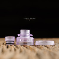 "Adler Industries - ""Amethyst Purple Cap Assembly for Mikro BF RDA"""
