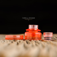 "Adler Industries - ""Ruby Red Cap Assembly for Mikro BF RDA"""