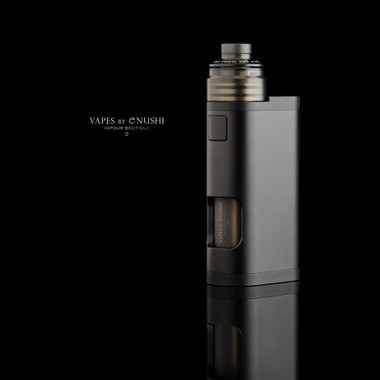 "DDP Vape - ""DDP Mech Solo 24mm Black Frosted Top Air Package"""