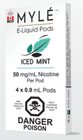 "MYLE - ""Iced Mint Pod"" (4 Pack)"