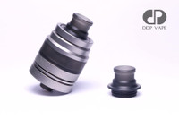 "DDP Vape - ""EVO Black Frosted Drip Tip"" shown installed on DDP EVO for demonstration purposes only. Tank is NOT included in this sale. This listing is only for the drip tip."