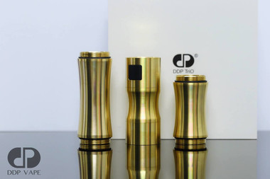 "DDP Vape - ""TriO, Brass"" Mechanical Tube Mod"