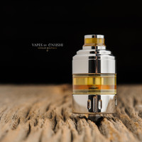 "Hussar Vapes - ""Project X RTA, Polished SS"""