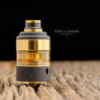 "Hussar Vapes - ""Project X RTA, Black & Gold"""