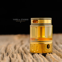 "Hussar Vapes - ""Project X Extension Tank, Polished Gold"""