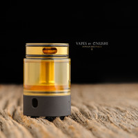 "Hussar Vapes - ""Project X Extension Tank, Black & Gold"""