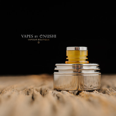 "Hussar Vapes - ""Inverted Torpedo Cap for Hussar RTA and Project X, Polished SS"""