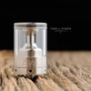 EVL Vapors - Reaper V3 Tank Section, 2mL, Polycarbonate shown attached to complete Reaper V3 RTA for demonstration purposes only. This sale is only for the polycarbonate tank window section.