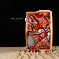 """Vicious Ant - """"Spade 21700 Mech V2, Caustic Copper - MOLTEN LAVA FLOW"""""""