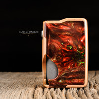 "Vicious Ant - ""Spade 21700 Mech V2, Caustic Copper - FOREST FIRE"""