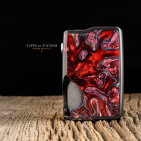"Vicious Ant - ""Spade 21700 Mech V2, Black - RED 1"""