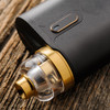 "Play Inc. - ""Play Gen 5 Mid Profile Beauty Ring and Drip Tip Set, Gold Colour"" shown attached to complete setup for demonstration purposes only. This sales listing is only for the drip tip and beauty ring combination."