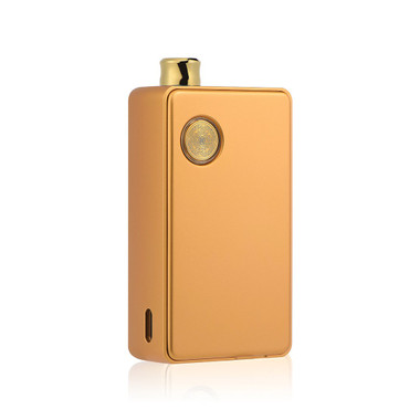"dotmod - ""dotAIO"" All-In-One 18650 Box Mod, Gold"