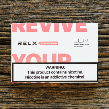 "RELX - ""RELXPODS - Peach Oolong Pods"""