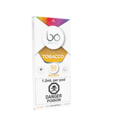 "BO Vaping - ""Golden Tobacco 50mg Cap (1/PK)"""