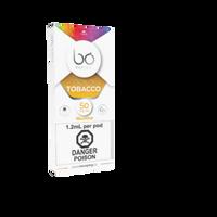 "BO Vaping - ""Golden Tobacco 50mg Cap (1/PK)"""