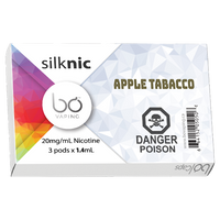 "BO Vaping - ""Apple Tobacco BO Cap"""