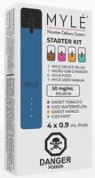 """MYLE - """"Device Kit with 4 Pod, Royal Blue"""""""