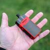 "HellVape - ""GRIMM KIT"" 30W AIO Pod Kit System, Red & Carbon Fiber"