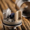 """Vicious Ant - """"Club Omega Atomizer"""" is easy to build, thanks to its two-post design with deep juice channels."""
