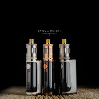 Taifun x Aspire - Nautilus GT Kit, Stainless Steel, Rose Gold, and Gunmetal