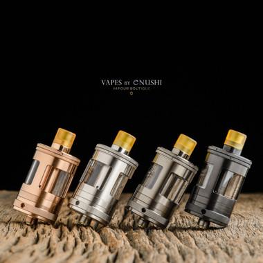 Taifun x Aspire - Nautilus GT Tank, Rose Gold, Stainless Steel, Gunmetal, and Black DLC