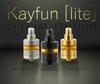 "SvoëMesto - ""Kayfun [Lite] Special Edition"" RTA, Moonlight (Blasted), Nite DLC (Black), High Noon (Gold)"