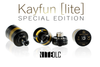 "SvoëMesto - ""Kayfun [Lite] Special Edition"" RTA, Nite DLC (Black)"