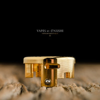 Armor Mods - Engine RDA Air Flow Insert, Polished Gold, Small 1.2x1.2mm