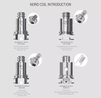 "Smok - ""Nord Replacement Coils 5/PK"""
