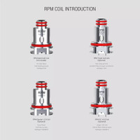 "Smok - ""RPM 40 Replacement Coils 5/PK"""