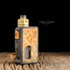 Nick Ricotta Customs - Amber Ultem Cap for Haku Phenom or Cruiser shown with NRC 510 Drip Tip and BoostLabs ALT.