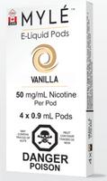 """MYLE - """"Vanilla Pod"""" (4 Pack)"""
