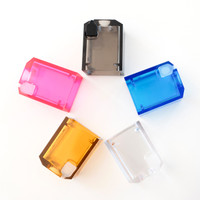 Atmizoo - VapeSnail Replacement Tank Kit series, in Clear, Electric Blue, Fuchsia, Smoked Black, and Ultem Yellow.
