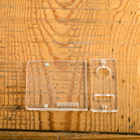 Delro Door & Faceplate Set for d60, Clear