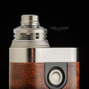 "Bell Vape by Chris Mun - ""Bell Cap for Engine by Armor Mods"", Polished with JMK Bub- Drip Tip, JMK Machi Ring, and Armor Mech"