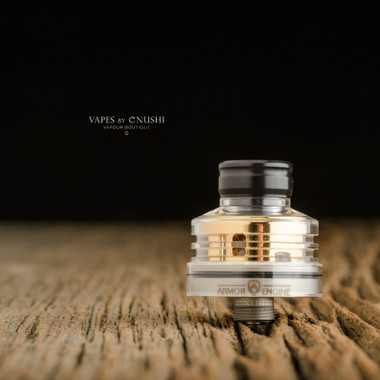 "Bell Vape by Chris Mun - ""Bell Cap for Engine by Armor Mods"", Polished"