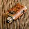 "Bell Vape by Chris Mun - ""Bell Cap for Engine by Armor Mods"", Polished with Armor Mech, and Miro Momo Friction Beauty Ring"