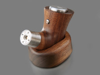 dicodes - Stand for yogs E-PIPE One, Walnut, shown with Walnut yogs E-PIPE one