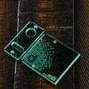 Delro Door & Button Plate Set, MTL, Aqua