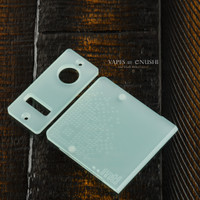 Delro Door & Button Plate Set, MTL, Jade